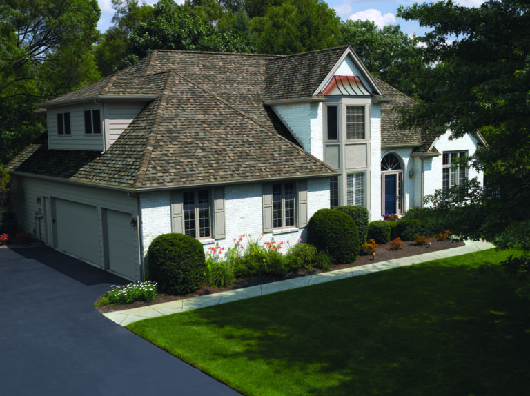 Owens Corning Residential Roofing System installed on beautiful house