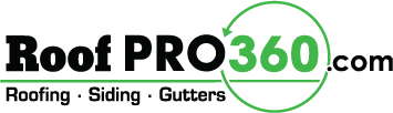 Central and Columbus Ohio roofing company Roof PRO 360 logo