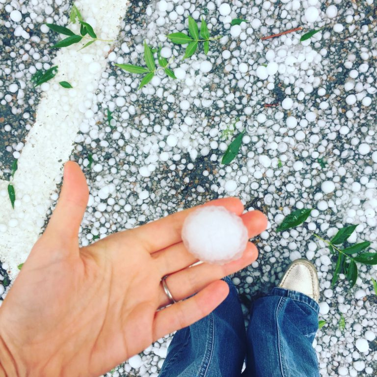 Storm caused hail damage roof in Columbus and throughout Central Ohio
